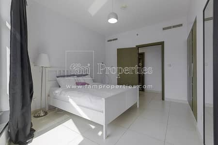 1 Bedroom Apartment for Rent in Downtown Dubai, Dubai - Spacious 1Bed with Sea view Chiller free