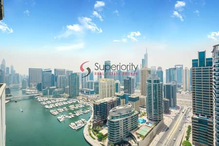 2 Bedroom Apartment for Sale in Dubai Marina, Dubai - Ready To Move In   Marina View   Brand New  Booking now