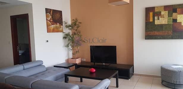شقة 2 غرفة نوم للايجار في جميرا بيتش ريزيدنس، دبي - Amazing two bedroom with breathtaking view and best price