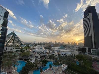 فلیٹ 2 غرفة نوم للايجار في بر دبي، دبي - شقة في مدينة دبي الطبية بر دبي 2 غرف 130000 درهم - 4715421