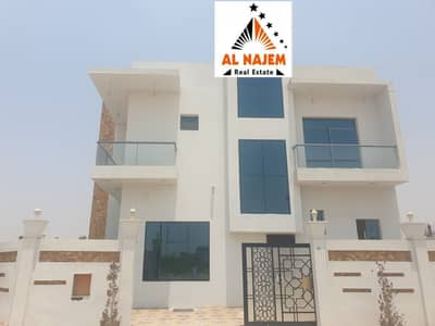 6 Bedroom Villa for Sale in Al Helio, Ajman - Sale, luxury villa, super deluxe, wonderful personal finishing in the Al Helio area