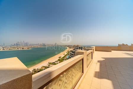 6 Bedroom Penthouse for Sale in Palm Jumeirah, Dubai - Villa under the SkyI Safe Home I Arabian Gulf View