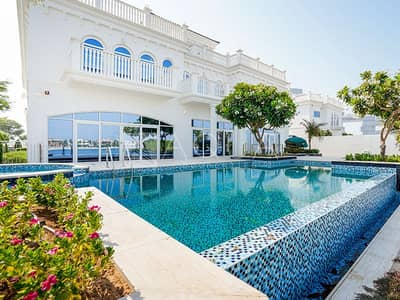 7 Bedroom Villa for Sale in Palm Jumeirah, Dubai - Mansion Custom Tip Villa | Bespoke 7 Bed