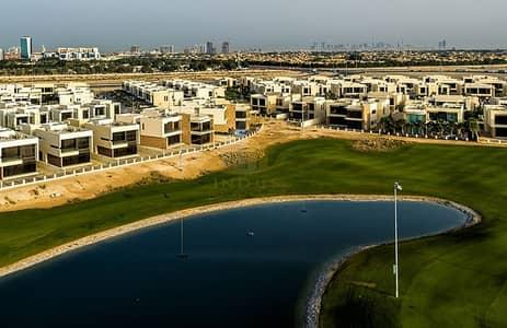 5 Bedroom Villa for Sale in DAMAC Hills (Akoya by DAMAC), Dubai - Beautiful Full Golf Course View  | Type V3 Villa