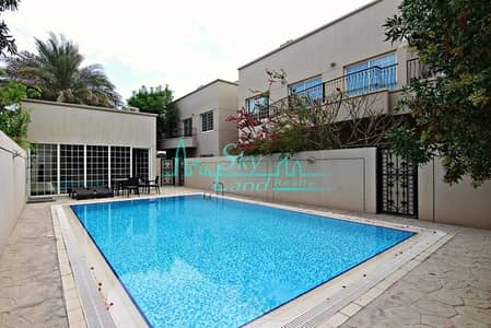 5 Bedroom Villa for Rent in Umm Suqeim, Dubai - Spacious 5 bed+maid's|Small garden|Shared pool|Gym