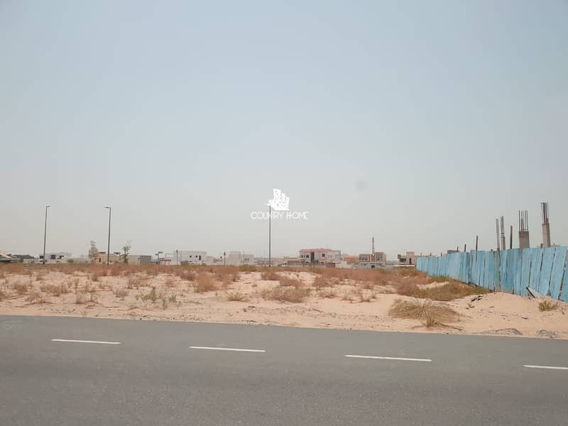 Biggest  Plot in Nad Al Shiba for sale
