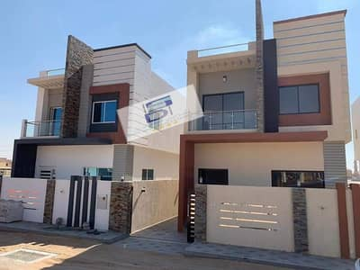 3 Bedroom Villa for Sale in Al Yasmeen, Ajman - Villa for sale two floors, 3 rooms, large area, super deluxe finishing