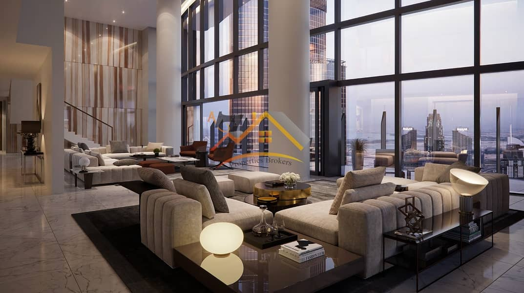 NEXT TO THE OPERA FRONTING DUBAI FOUNTAIN PENTHOUSE 4BR AMAZING LOCATION