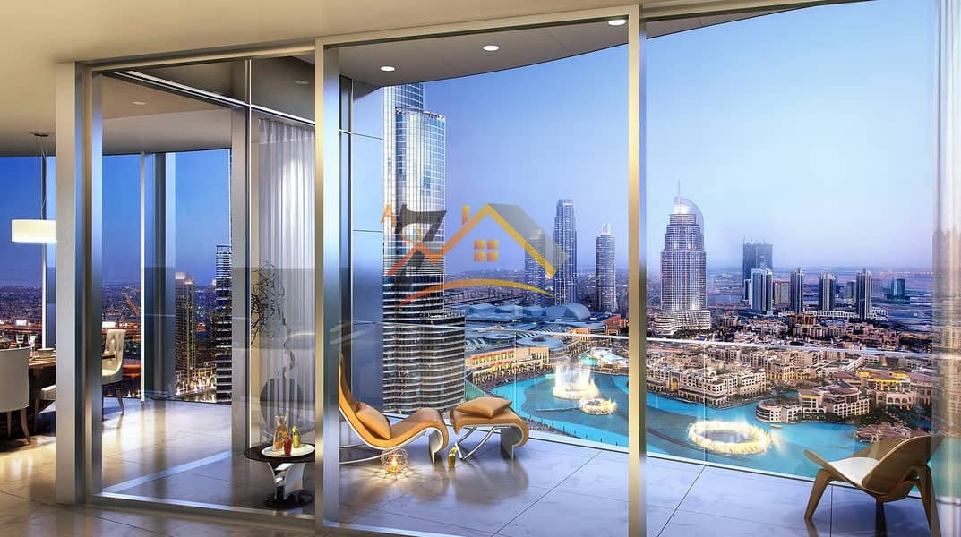 13 NEXT TO THE OPERA FRONTING DUBAI FOUNTAIN PENTHOUSE 4BR AMAZING LOCATION