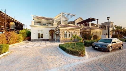 فیلا 4 غرف نوم للايجار في عقارات جميرا للجولف، دبي - Private pool & garden | Maid's room & study | Elevator