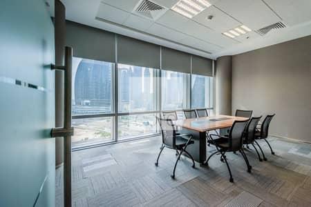 مکتب  للايجار في مركز دبي المالي العالمي، دبي - Combined Fitted Office   Furnished   Fitted