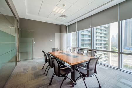 مکتب  للايجار في مركز دبي المالي العالمي، دبي - Fitted and Furnished Office   Prime  Location