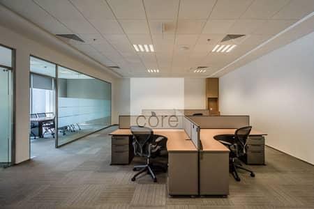 مکتب  للايجار في مركز دبي المالي العالمي، دبي - Fitted and Furnished Office   Low Floor
