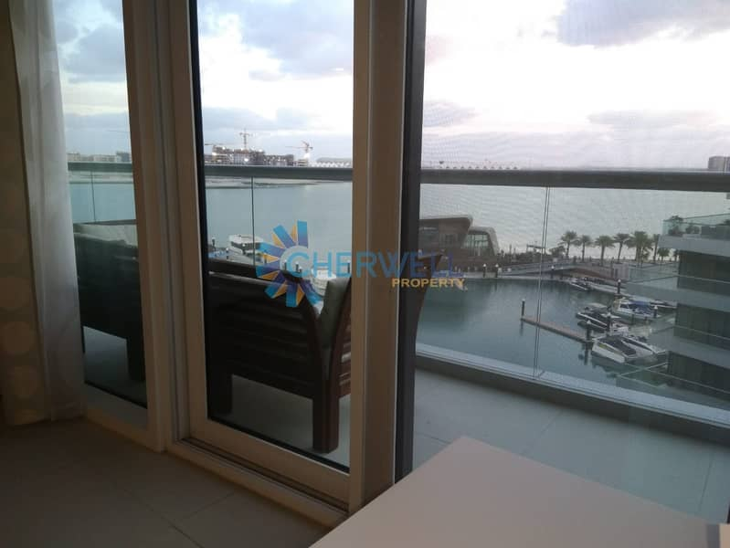 Sea View | Fully Furnished | 8 Payments | Call Us For Viewing