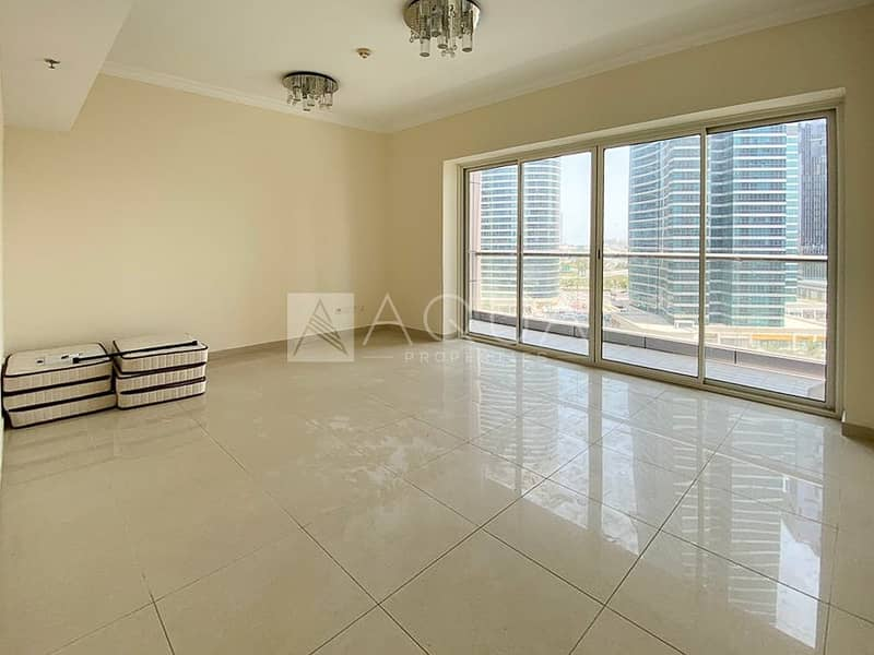 2 BR | Balcony | Unfurnished | Full Lake View