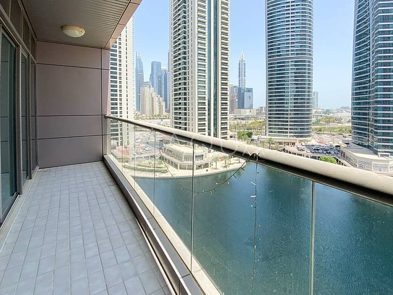 10 2 BR | Balcony | Unfurnished | Full Lake View