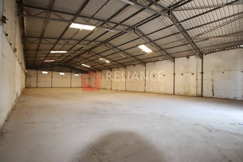 NEGOTIABLE | 9450 SQ FT WAREHOUSE IN SHARJAH INDUSTRIAL AREA 1