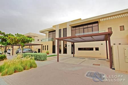 تاون هاوس 3 غرف نوم للبيع في داماك هيلز (أكويا من داماك)، دبي - Middle Unit | Three Beds | Close to Park
