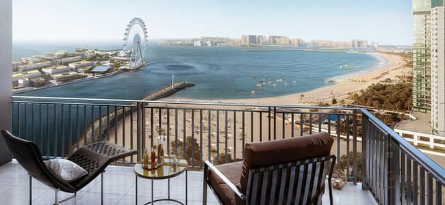 Facing the Stunning Dubai Eye and Sea View with Payment Plan