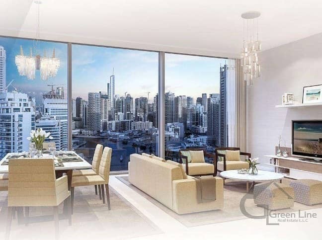 2 Facing the Stunning Dubai Eye and Sea View with Payment Plan