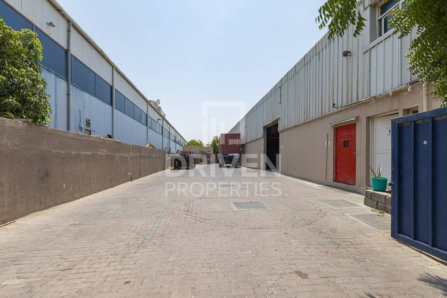 Road Side Warehouse for  Sale in Al Qouz