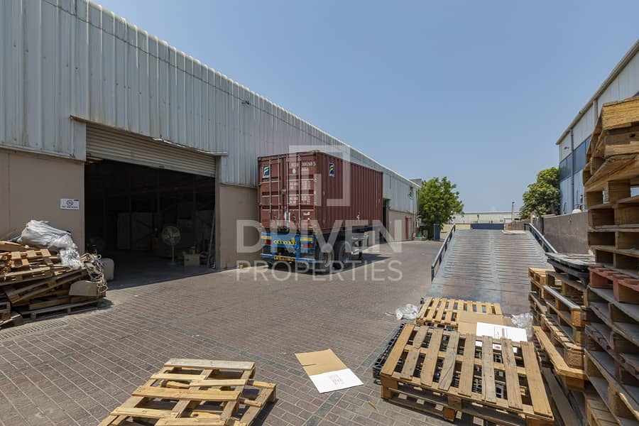 2 Road Side Warehouse for  Sale in Al Qouz
