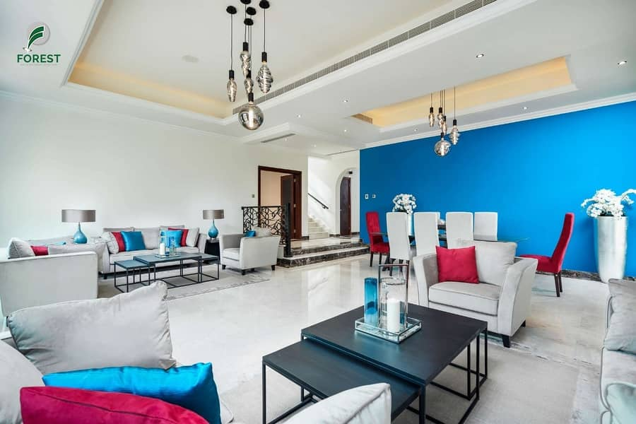 2 Luxury Furnished Villa | Golf Course View| Vacant