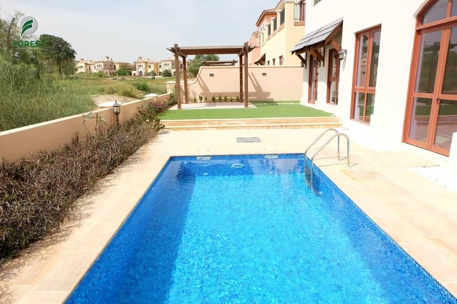 28 Luxury Furnished Villa | Golf Course View| Vacant