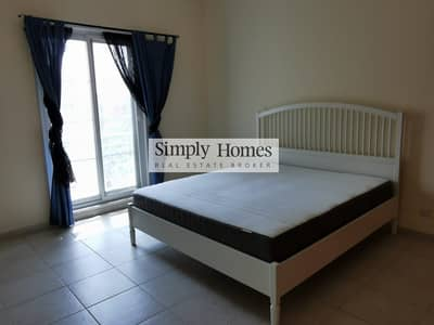 1 Bedroom Apartment for Rent in Green Community, Dubai - One Bed|Fully Furnished|Facing The Pool