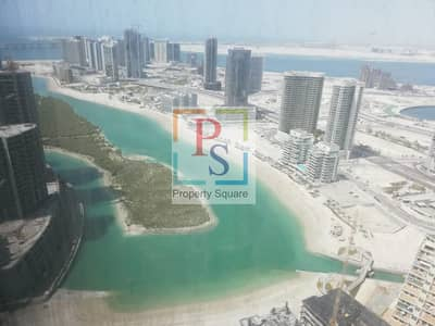 2 Bedroom Flat for Rent in Al Reem Island, Abu Dhabi - Stunning Sea View ! High Floor ! 2 Br Apartment