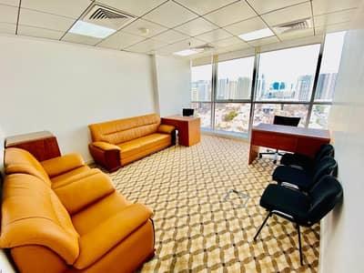 مکتب  للايجار في شارع إلكترا، أبوظبي - Super Discounted Luxurious Serviced Offices In Abu Dhabi