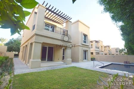 4 Bedroom Villa for Rent in Emirates Golf Club, Dubai - Special Offer I Full Golf View I 4 Bedroom Villa