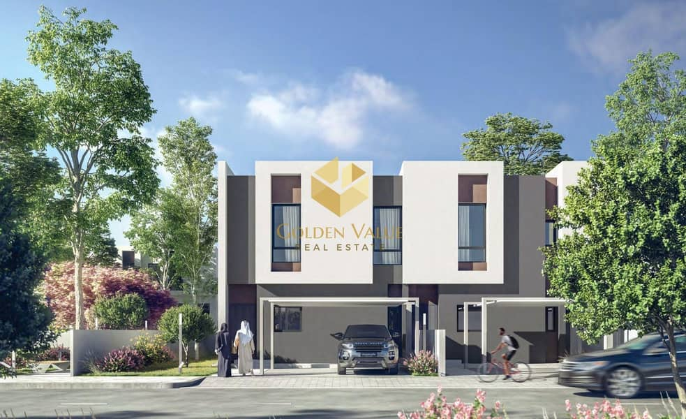 2 luxury villa   easily payment plan   in Sharjahs Newest Address