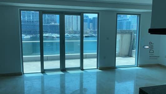 فیلا 1 غرفة نوم للايجار في دبي مارينا، دبي - Stunning 1BR Villa in Marina Promenade  100% Full Marina Facing  1250 Sq.Ft  UNIT EV02  Full 5* Maintenance Package incl
