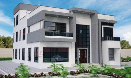 فیلا 10 غرف نوم للبيع في مدينة شخبوط (مدينة خليفة ب)، أبوظبي - For sale commercial residential villa in Shakhbout Zawia and a public street