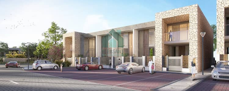 3 Bedroom Townhouse for Sale in Dubailand, Dubai - Townhouse in rukan Limited units-pay 1% monthly!