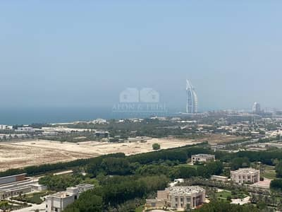 1 Bedroom Apartment for Rent in Al Sufouh, Dubai - Hilliana tower furnished 1 bedroom stunning view