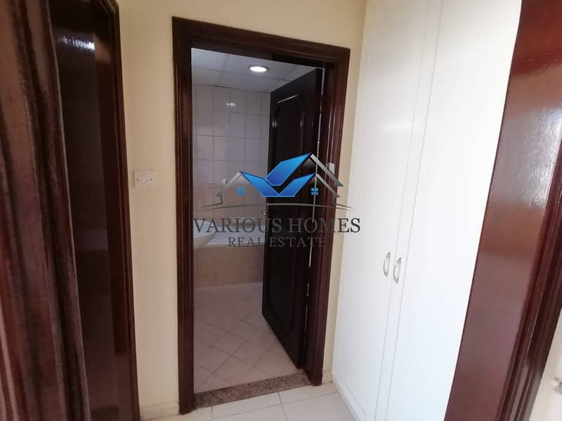 11 Bright Clean Well Maintained 01 BHK APT at Al Nahyan Opp Bus Station plus Easy Parking