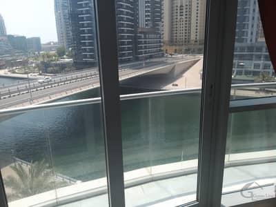 شقة 3 غرف نوم للايجار في دبي مارينا، دبي - Furnished I Full Marina View I with store I 2 Big Balconies