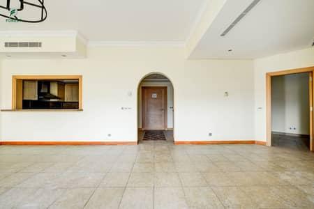 شقة 2 غرفة نوم للايجار في نخلة جميرا، دبي - Amazing Unit | 2 Beds | Unfurnished | Vacant