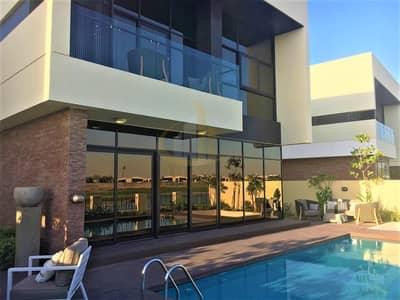 فیلا 5 غرف نوم للبيع في داماك هيلز (أكويا من داماك)، دبي - Ready Single Row Type V5 5BR+M with Private Pool