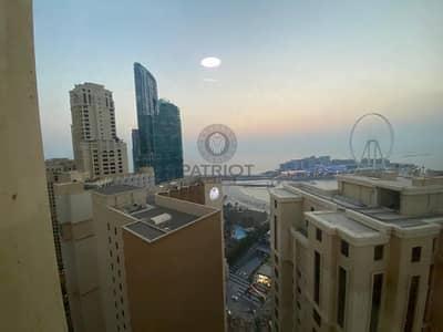 فلیٹ 3 غرف نوم للايجار في جميرا بيتش ريزيدنس، دبي - Best Layout | Large Capacity | Vacant Unit | Marina View