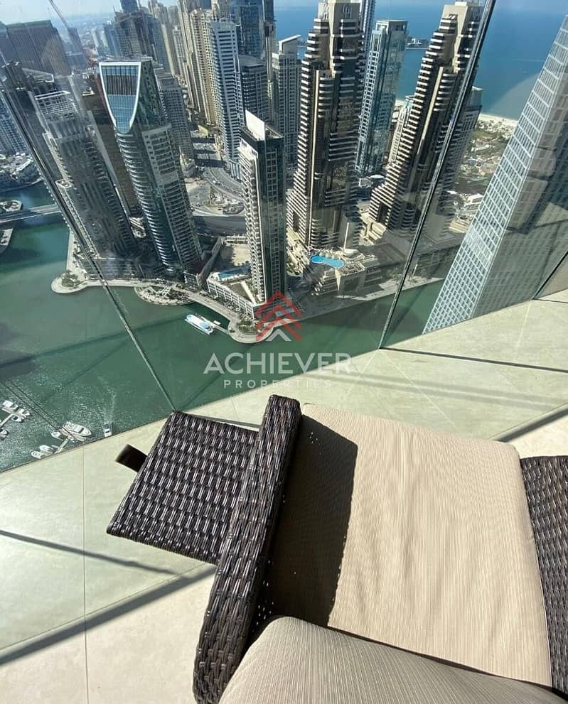 Full Marina View | High floor | Fully Furnished