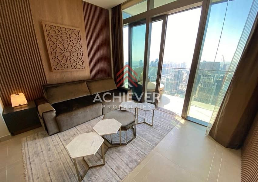 2 Full Marina View | High floor | Fully Furnished