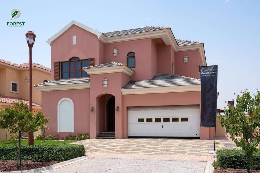 2 Amazing Villa | 4 Beds | Golf View | Unfurnished