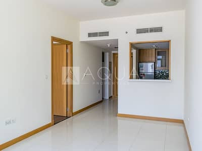 فلیٹ 1 غرفة نوم للايجار في دبي مارينا، دبي - Vacant | 1 Bed + Laundry | Marina View