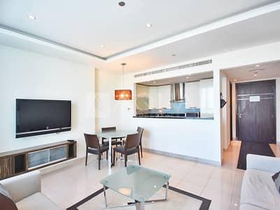 فلیٹ 1 غرفة نوم للايجار في أبراج بحيرات الجميرا، دبي - 5 STAR Furnished | Great View | Vacant