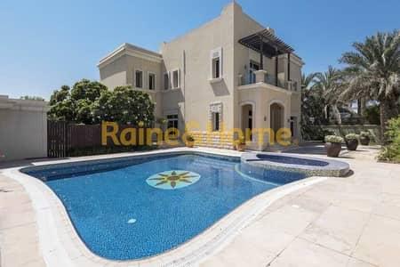 فیلا 5 غرف نوم للبيع في تلال الإمارات، دبي - Full Lake View   Prestige Community   Great Price