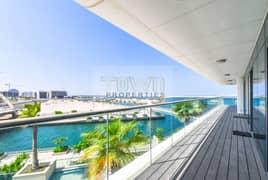 Spacious Apt with a big balcony, Sea view
