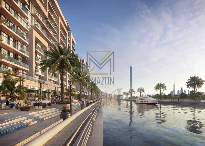 2 BRAND New Retail Shops / High ROI / Canal Views - Azizi Shops